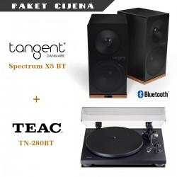 Tangent Spectrum X5BT + Teac TN 280 Bluetooth