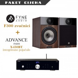 Advance Paris X-i50BT + Fyne Audio F300