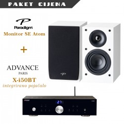 Advance Paris X-i50BT + Paradigm Monitor SE Atom Bookshelf par