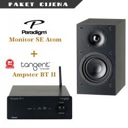 Tangent Ampster BT II + Paradigm Monitor SE Atom