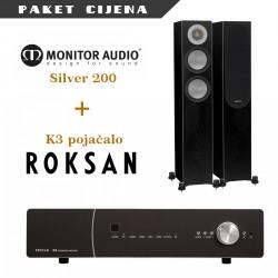 Roksan K3 + Monitor Audio Silver 200