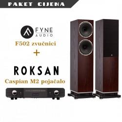 Roksan Caspian M2 + Fyne Audio 502