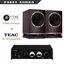 Teac AI 503 + Fyne Audio F500