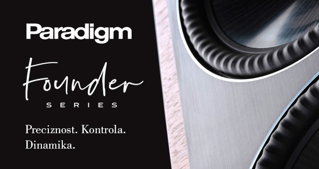Paradigm Founder zvučnici – preciznost, kontrola, dinamika!